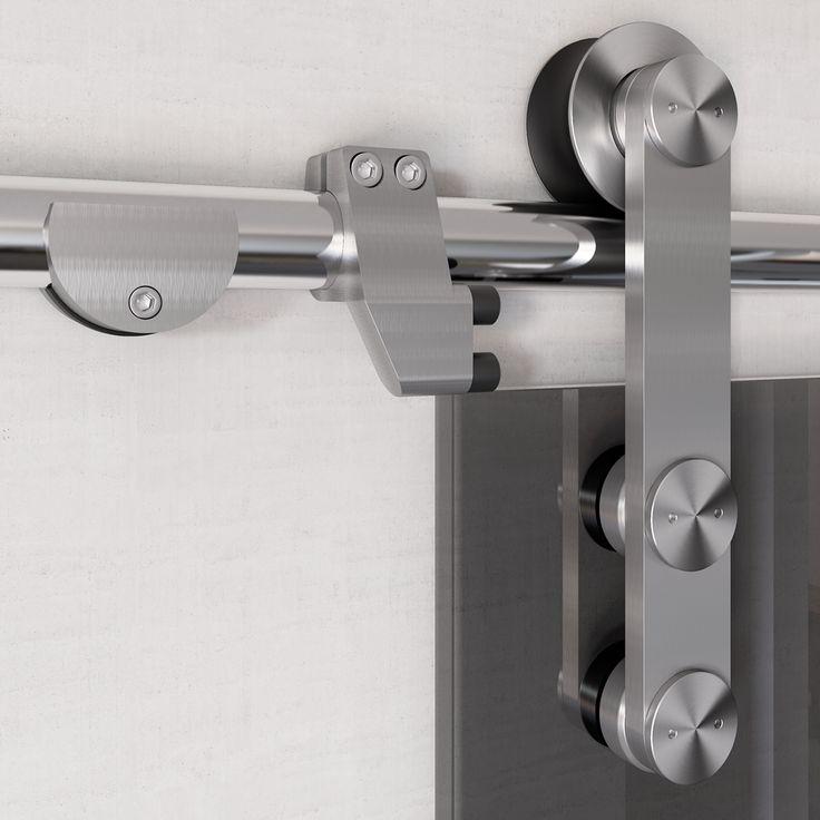 "Sistema scorrevole inox ""SV 120""   ""SV 120"" stainless steel sliding system di #MRartdesign"