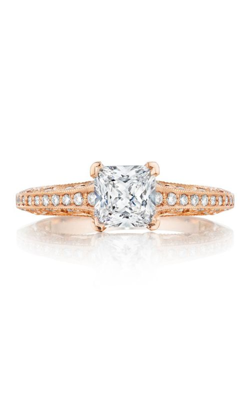 Tacori Pretty In Pink. #Tacori #engagement #ring