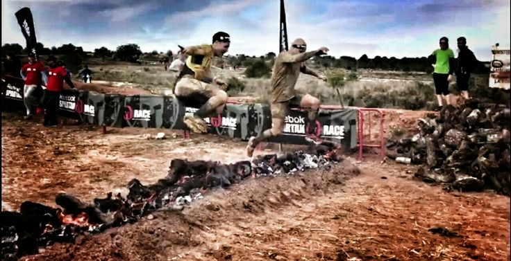 Final de la super spartan race Valencia 2016