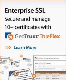 Easily manage 10+ certificates with Enterprise SSL - Learn more