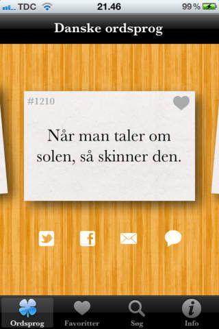 Danske ordsprog koster 7 kr. Her kan man læse 1500 dansk ordsprog.