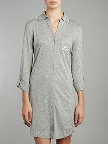 The essentials roll cuff nightshirt