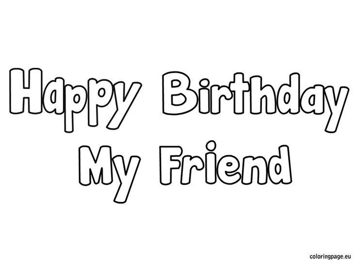 Happy birthday my-friend
