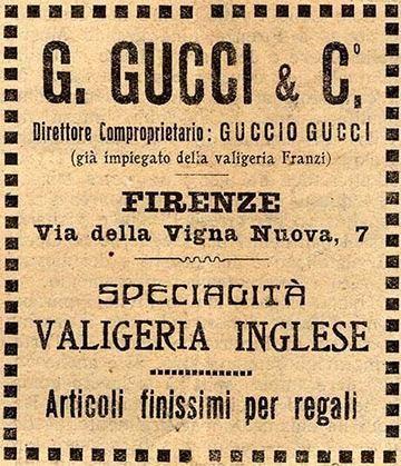 La #Maison fondata da Guccio #Gucci nel 1921 era originariamente specializzata in #valigie e piccola #pelletteria.