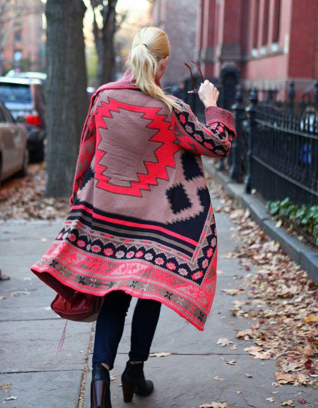 Blanket Sweater.