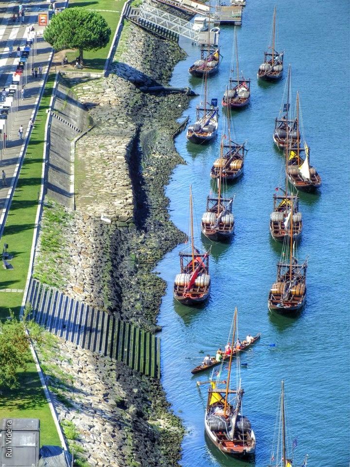 Rabelo boats, Porto by Rui Videira