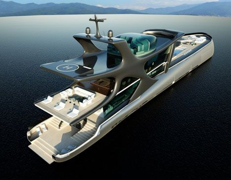 Beluga Superyacht is the result of in cooperation between Pure-Sang and Glass-De…