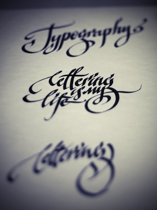 83 Best Images About Parallel Pen Calligraphy On Pinterest