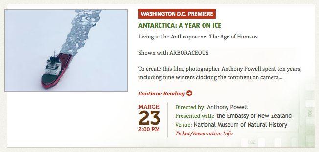 D.C. Environmental Film Festival Launches