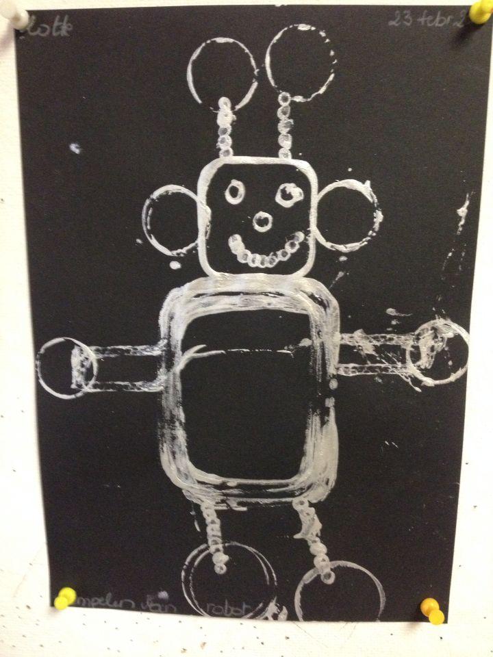 Robots stempelen