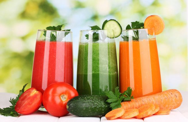 Детокс — диета. Правильное очищение вашего организма.
