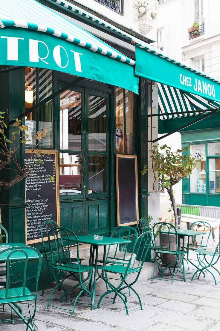 Chez Janou, located on a quiet corner behind the place des Vosges. This Provencal bistro, offers traditional French cuisine. Guests can enjoy traditional dishes such as goat cheese spinach salad, steak, duck breast with rosemary, not forgetting the chocolate mousse served with a ladle. Enjoy sunny days on the terrace! | Paris, France       http://www.tripadvisor.com/Restaurant_Review-g187147-d714966-Reviews-Chez_Janou-Paris_Ile_de_France.html