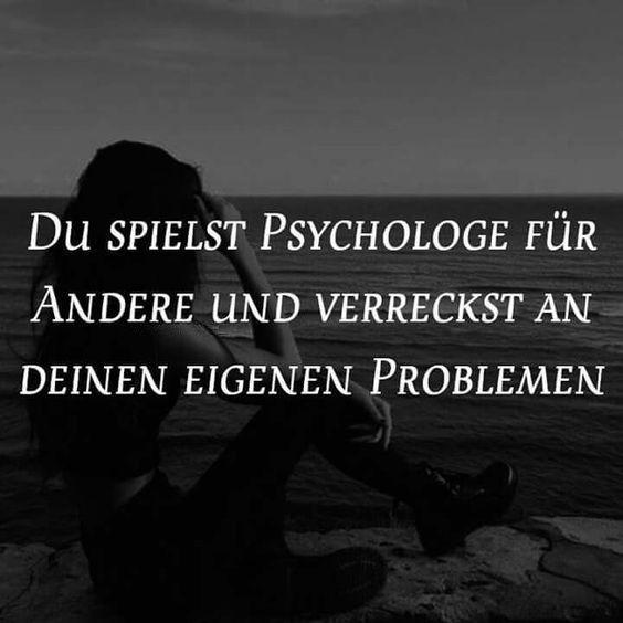 Wenn ich doch nur ein guter Psychologe für mich selber wäre