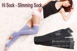 Betis Menjadi Ramping Dan Indah Disaat Kamu Tidur Dengan HiSock Slimming Sock Hanya Rp.69,000 - www.evoucher.co.id #Promo #Diskon #Jual  Klik >http://evoucher.co.id/deal/HiSock-Slimming-Sock  HiSock Slimming Sock adalah Kaos Kaki Pelangsing Betis dan Paha Dengan Teknologi Jepang. Gunakan setiap malam saat tidur dan rasakan betis dan paha anda semakin ramping dan indah.  pengiriman mulai 2014-03-07