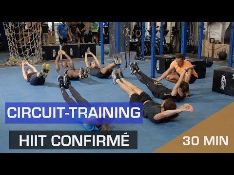 Circuit training Tabata – HIIT Confirmé - YouTube
