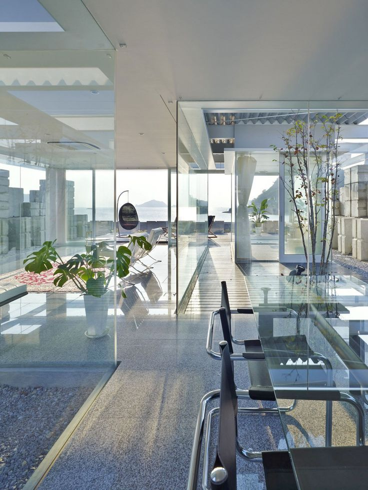 Good Interior Design Glass House
