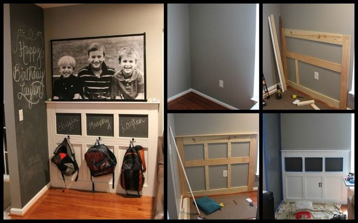Keeping the school stuff together makes the stress of mornings less for everyone in the family. If you're looking for storage system for your kid's backpacks, then this DIY backpack station might interest you! This backpack wall is great for those who have limited space in the entryway. Everything is simply hanged and organized while keeping your floor space free. Jackets and umbrellas could be placed here, too. What other things would your kids need before heading out for school? This…