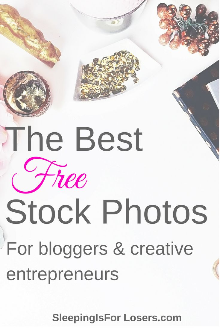 Where to find free stock photos for bloggers and creative entrepreneurs - some of the best stock photos on the internet!
