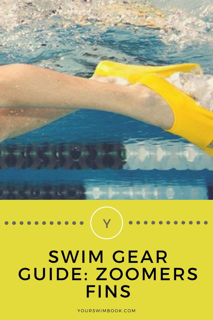 Swim Gear Review: Zoomers Fins via @yourswimbook