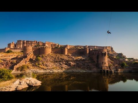 Zipline tour in Jodhpur, Ziplining with Flying Fox, Zipline India