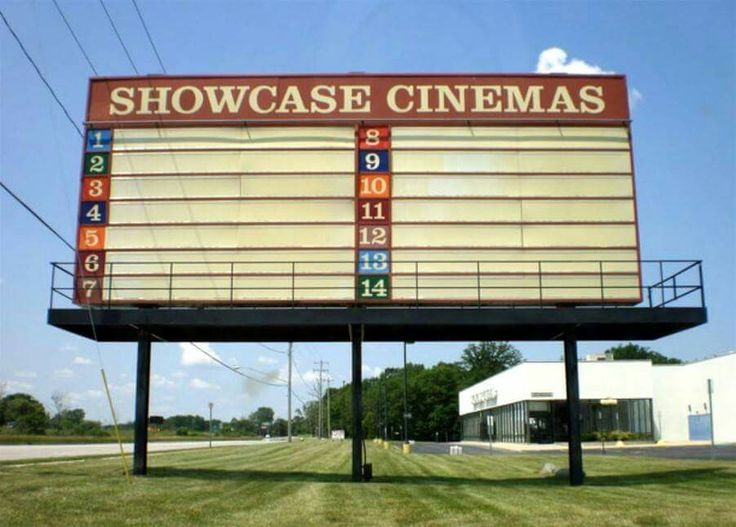 Showcase Cinema on Court Street in Flint Michigan