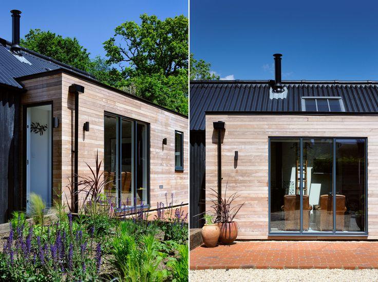 IPE cladding & Fibre Cement Board Corrugated Cladding, Brick Terrace | Daisybank Cottage  |  PAD Studio Architects | www.PADstudio.co.uk