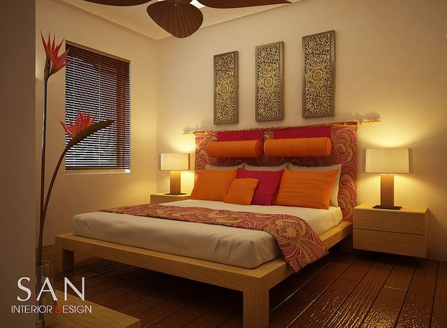 Balinese Interior Design bedroom | Green Valley Resort - Bedroom Interior Design | Flickr - Photo Sharing ...