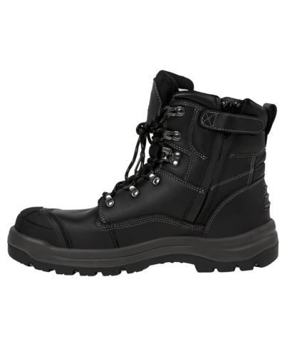 Side-Zip-Boot-9F1-Work-Boots-Tradesman-Tradie-Shoes-Shoe-Safety-Footwear