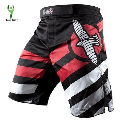 Mizuchi MMA Shorts - White Bird Print