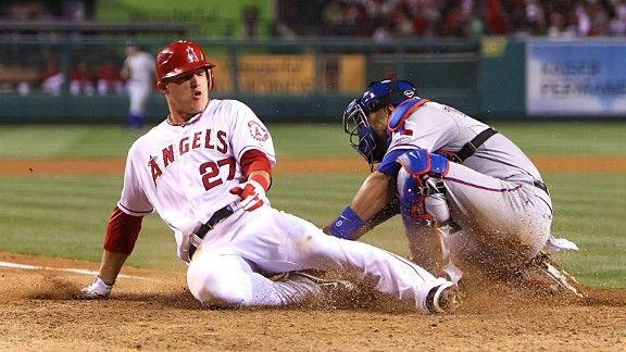 2012 Season Stats: .338 AVG, 40 Runs, 19 SB, 6 HR, 28 RBI.    Is Mike Trout in the running for fantasy MVP?