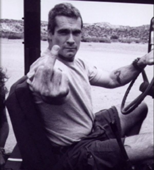 Henry Rollins is one sexy beast!