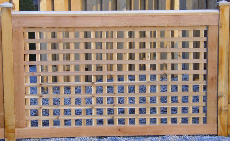 Wood Deck Panels ~ Best images about fence on pinterest decks balcony