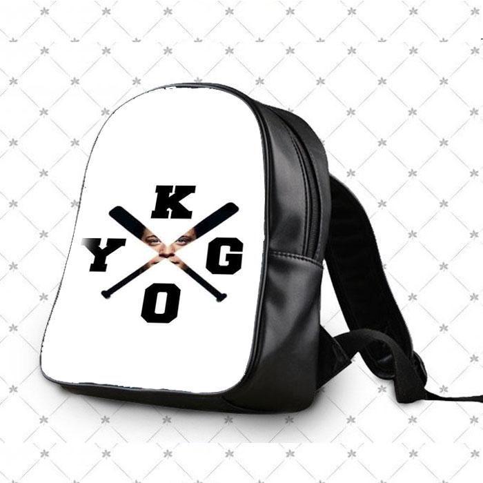Kygo Logo Photo Masking School Bag Backpacks
