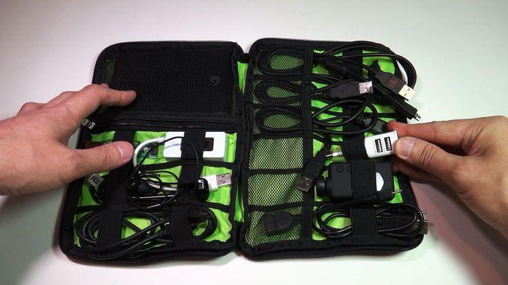 Органайзер для проводов - сумка для кабелей