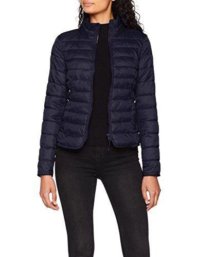 676c4a220dbc ONLY NOS Onltahoe Jacket OTW Blouson Femme Bleu (Night Sky) 38 ...