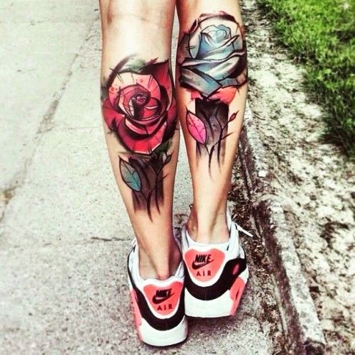 Delicati e sensuali tatuaggi con le rose: foto e significatoDelicati e sensuali tatuaggi con le rose: foto e significato