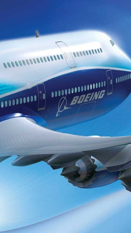"Boeing 787: The Dream-Liner.  A long range, mid-size wide-bodied, twin-engines jet airliner developed by Boeing Commercial Air-Planes. Its variants seat 210 - 330 passengers. Boeing states: ""It is the company's most fuel-efficient airliner."""
