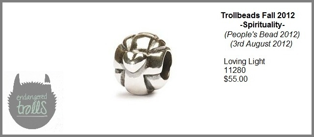 Trollbeads Fall 2012 Spirituality Collection - Loving Light
