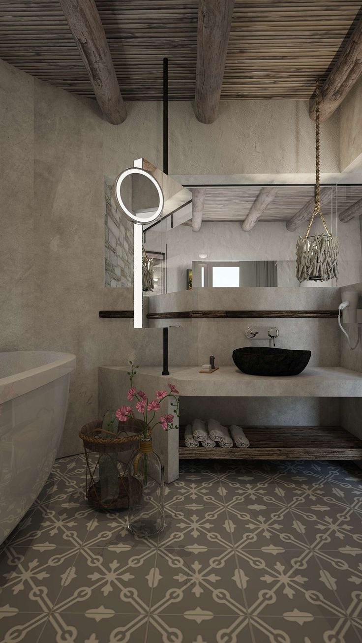 Helios Executive Suite - Bathroom, Elakati Luxury Boutique Hotel, Rhodes , Greece