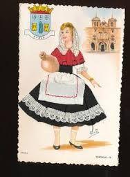Image result for portuguese vintage postcards