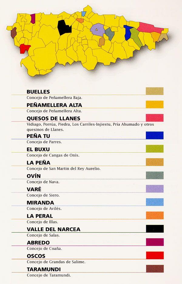 mapa quesos artesanos