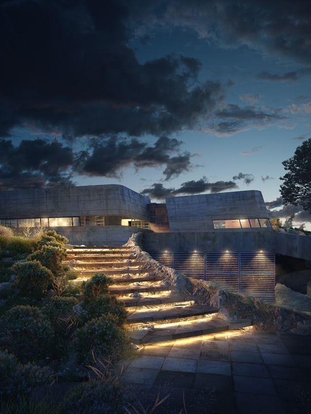 CGarchitect - Professional 3D Architectural Visualization User Community | Potrero Bunker House