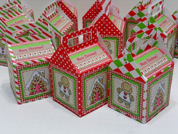 Christmas gable boxes gingerbread by
