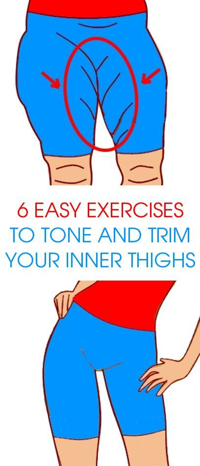 6 Easy Exercises to Tone and Trim your Inner Thighs