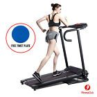 500W Portable Electric Motorized Treadmill Folding Running Fitness Machine New