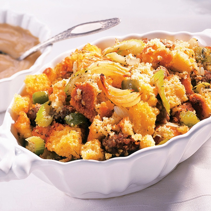 Sage Corn Bread Stuffing from McCormick.com #colorful #harvest #recipe ...
