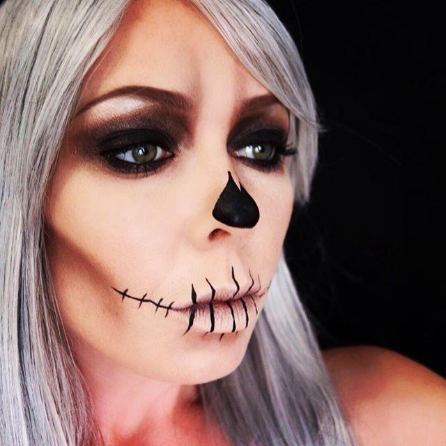 ☠✖️ #mua #makeupartist #makeup #halloween #nyc #beauty #love #skull #badass #art #artist #amberleighcosmetics