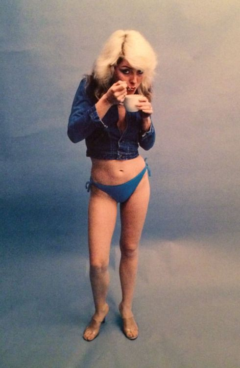 Debbie Harry, by Chris Stein, 1978. From the book Chris Stein / Negative: Me, Blondie, and the Advent of Punk.