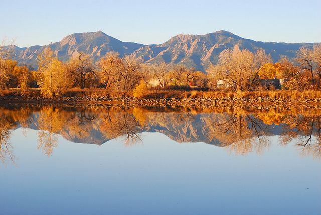 Twin Lakes and Flairons in Boulder, CO