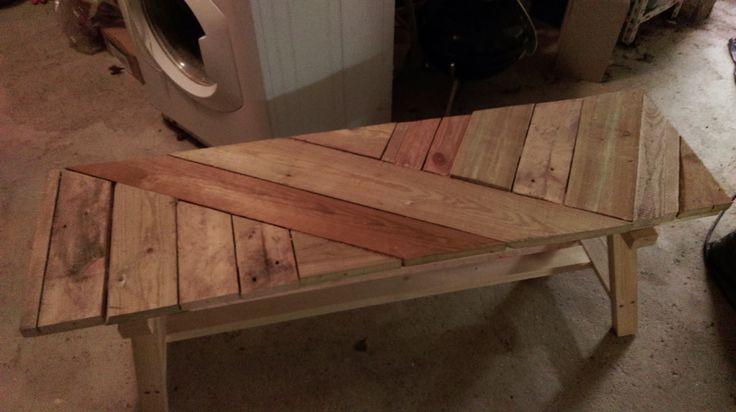 JAVA - rÃ¥t plankebord i genbrugstræ. Køb et unikt bord. – 2RETHINK ...